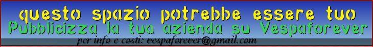 VespaForever pubblicizza la tua azienda ricambi Vespa sul nostro forum